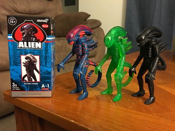 Super7 Alien Xenomorph Blind Box Figures 1