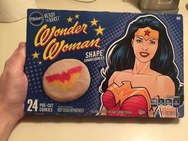Wonder Woman Cookies - Pillsbury