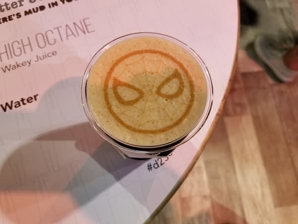 Spider-Man coffee
