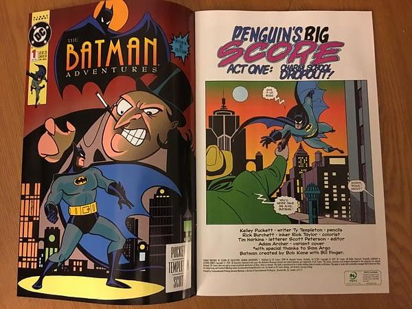Batman The Animated Series Funko Legion of Collectors Box Comic 2