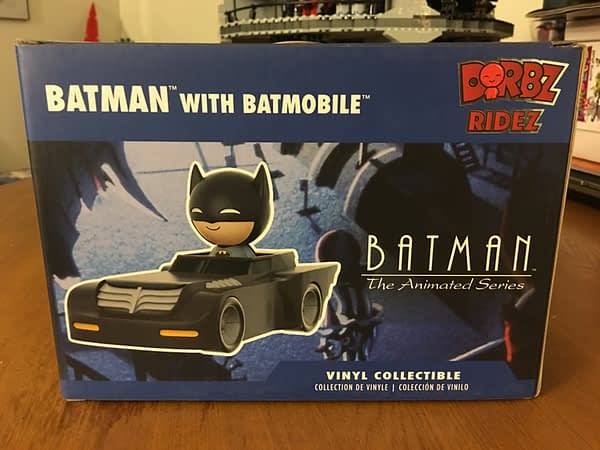 Batman The Animated Series Funko Legion of Collectors Box Dorbz Ridez 2