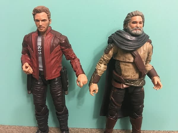 Marvel Legends Star Lord and Ego Two Pack 5
