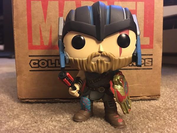Thor Ragnarok Collectors Corps Box 3 Marvel Collectors