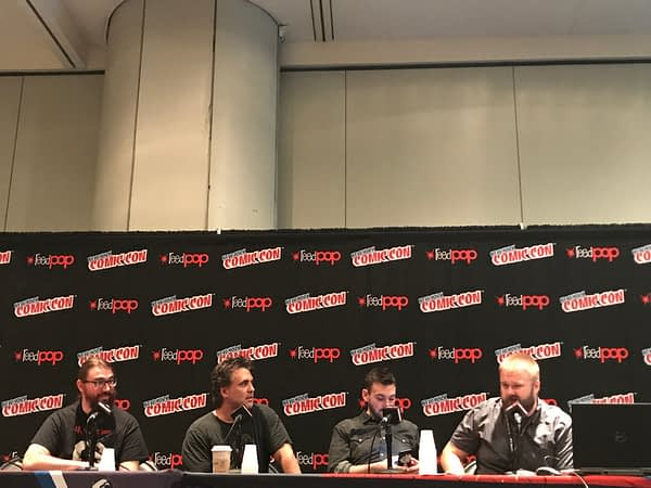 The Skybound panel at NYCC