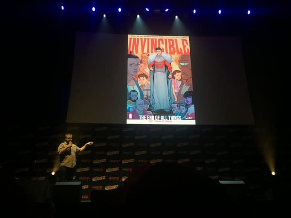 Robert Kirkman talks about his Invincible comic series