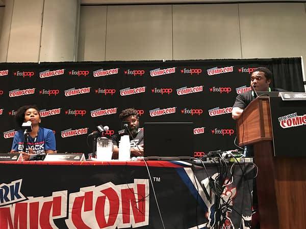 Black Heroes Matter Panel NYCC 2