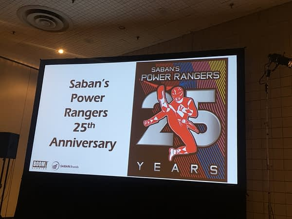 Saban's Power Rangers 25th Anniversary
