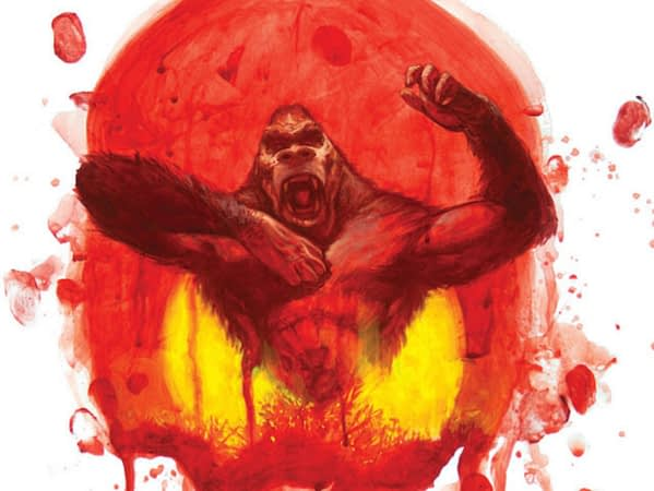 Kong: Gods of Skull Island #1 cover by Jeremy Wilson