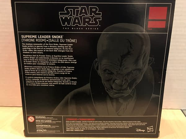 Star Wars Black Series Snoke 3