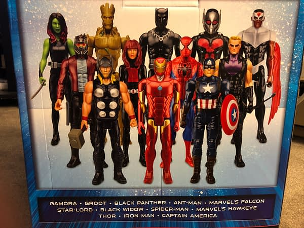 Hasbro Marvel Titan Series Box Set 2