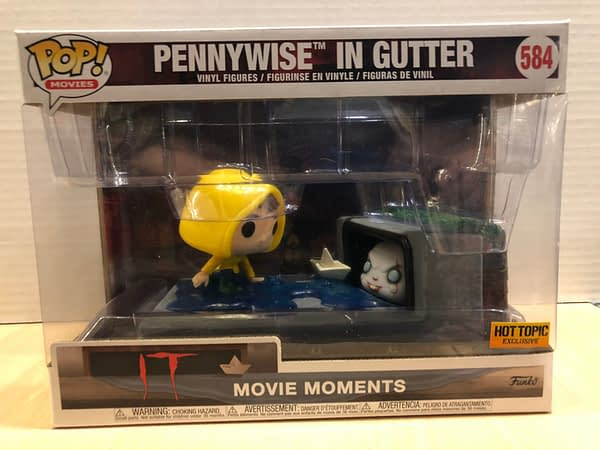 IT Pennywise Movie Moment Funko Pop 1