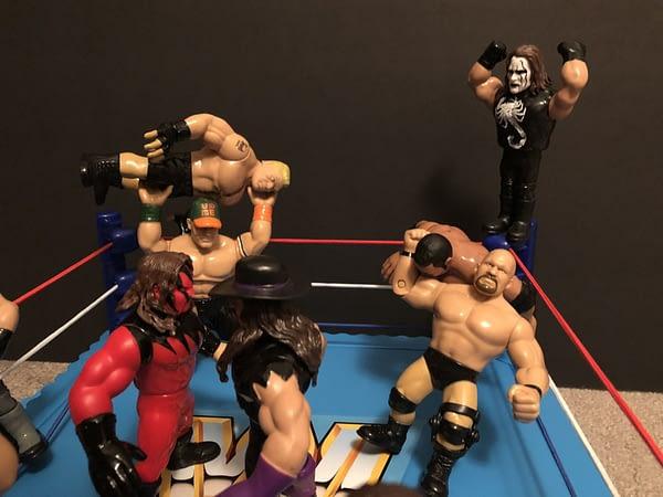 Mattel WWE Retro Ring 6