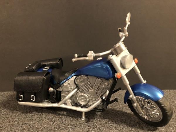Marvel Legends Wolverine and Bike 3