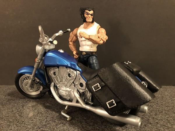 Marvel Legends Wolverine and Bike 9