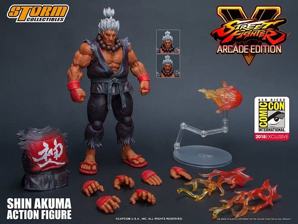 Storm Collectibles Street Fighter Shin Akum