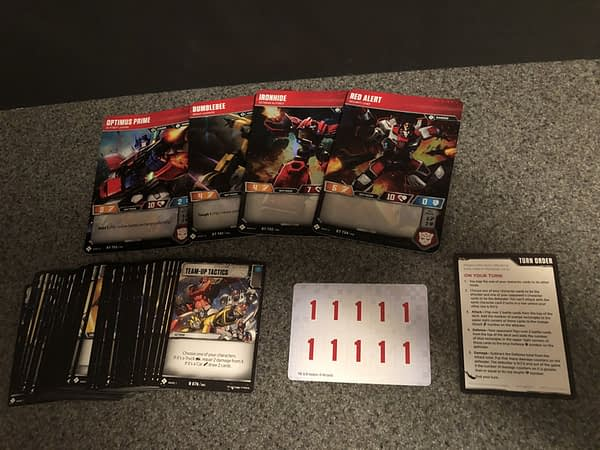 Transformers Trading Card Game 3