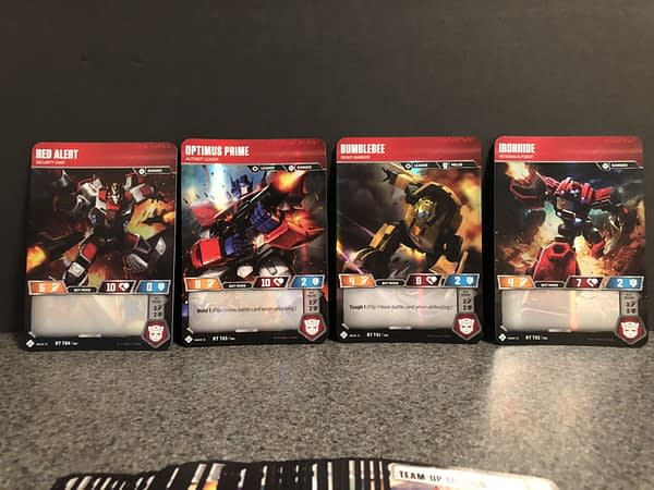 Transformers Trading Card Game 4