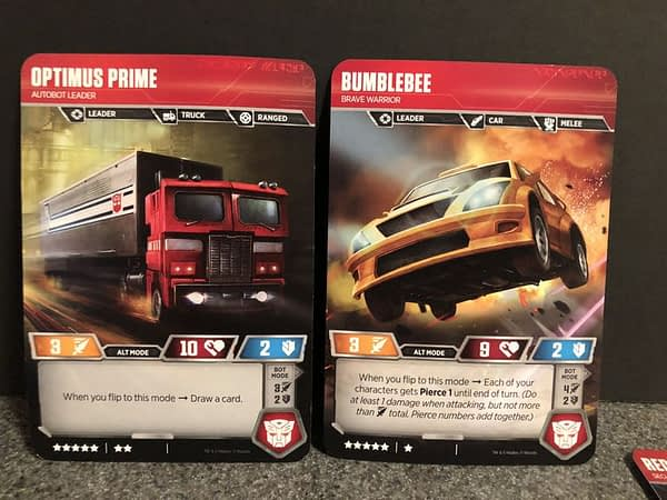 Transformers Trading Card Game 6
