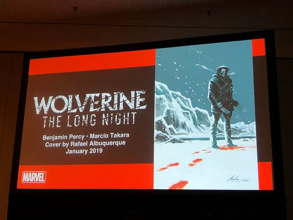 First Look at Wolverine: The Long Night From Benjamin Percy