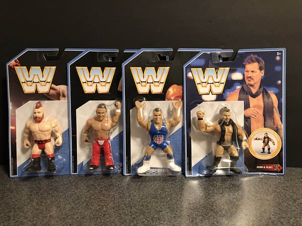 Mattel WWE Retro Figures 1