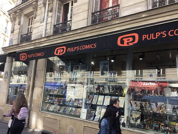 Walking Down Rue Dante, The Geekiest Street in Paris
