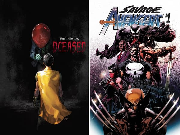 Savage Avengers and DCeased Top Advance Reorders
