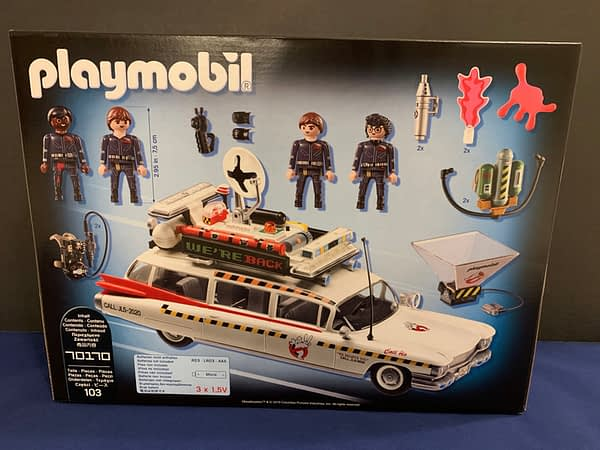 Ghostbusters 2 Ecto-1 From Playmobil is a Fan's Dream Toy