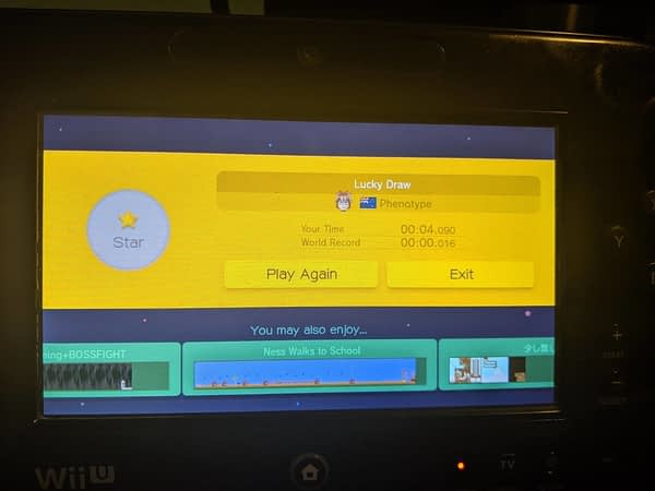 "Someone Finally Beat The Super Mario Maker ""Lucky Draw"" Level"