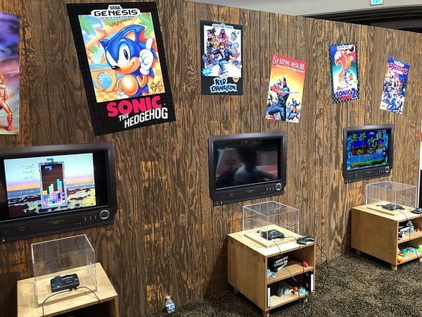 We Played Around With The SEGA Genesis-Mini During E3 2019