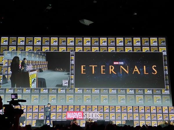 Eternals Official for November 2020 from Marvel Studios