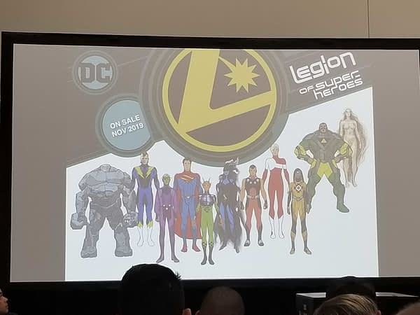 DC Comics to Give Away 'Legion Rings' With Bendis Launch of Legion Of Superheroes in November