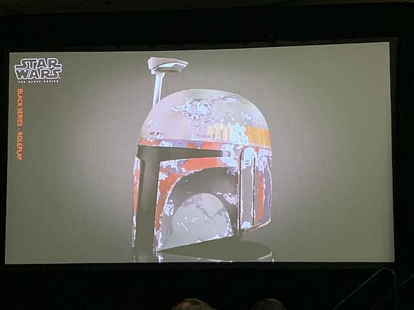 SDCC 2019: Hasbro Star Wars Panel Reveals Boba Fett Helmet...and That's Pretty Much It