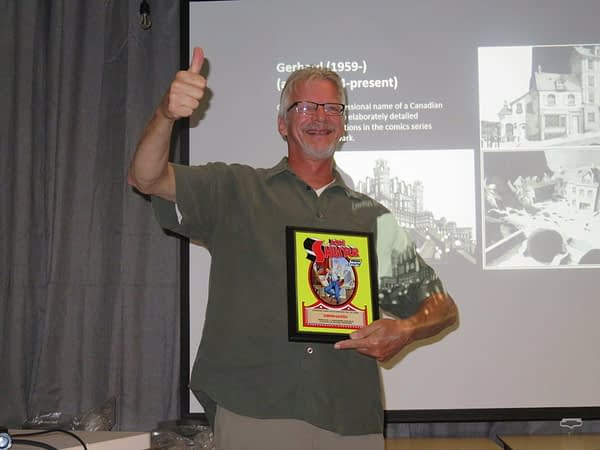 The winners of the Joe Shuster Awards 2019