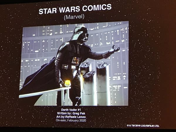 Marvel Comics to Publish Star Wars #1 and Darth Vader #1 in 2020