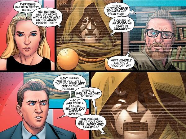 Doctor Doom #2, Amazing Spider-Man #33, Immortal Hulk #26