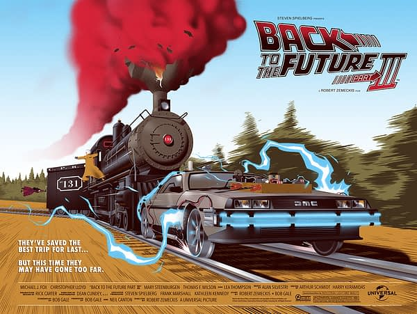 Mondo Back to the Future 3 Poster