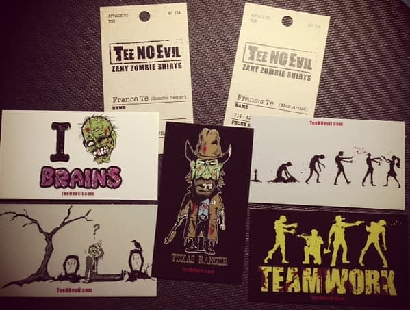 Tee No Evil Cards