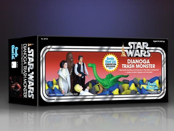 Star Wars Gentle Giant Dianoga Jumbo Figure 4