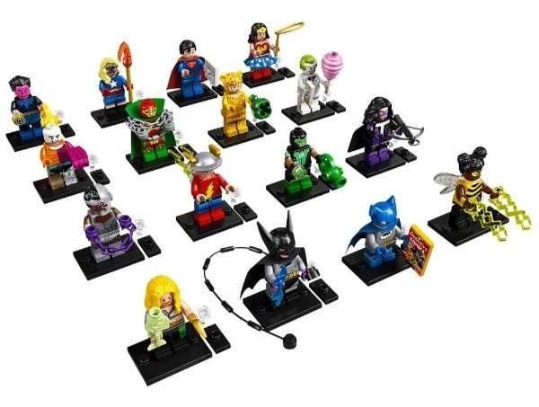 Dc Super Heroes Mystery Bag LEGO Mini Figures Coming Soon