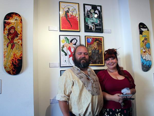 Rachel Walker and David Cone