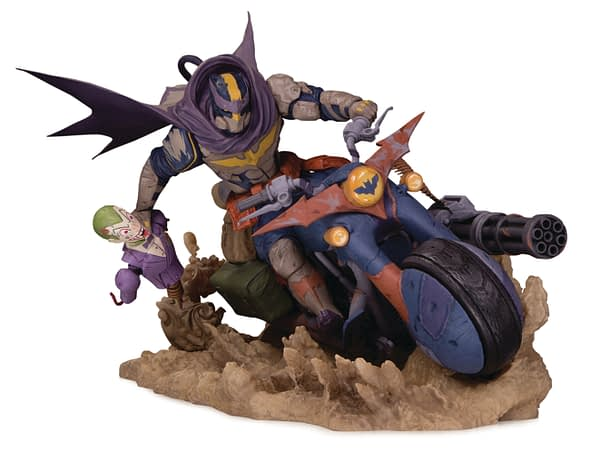 DC Comics Cancels Tim Sale, Hard Treveling Heroes, and Engines Of Chaos Batman Statue