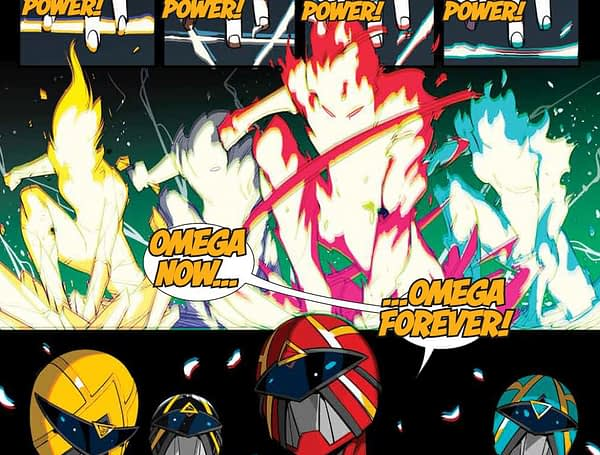 All The First Appearances – Including a New Power Ranger – and the Surprise Ending to MMPR #41 (Spoilers)