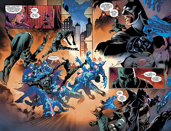 Batman: Detective Comics #981 art by Eddy Barrows, Eber Ferreira, and Adriano Lucas