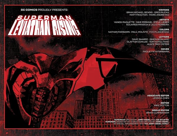 11-Page Preview Of Superman: Leviathan Rising