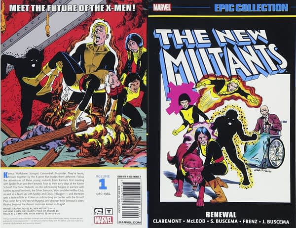 Marvel Sends New Mutants Comics Back to Print After Trailer Drops