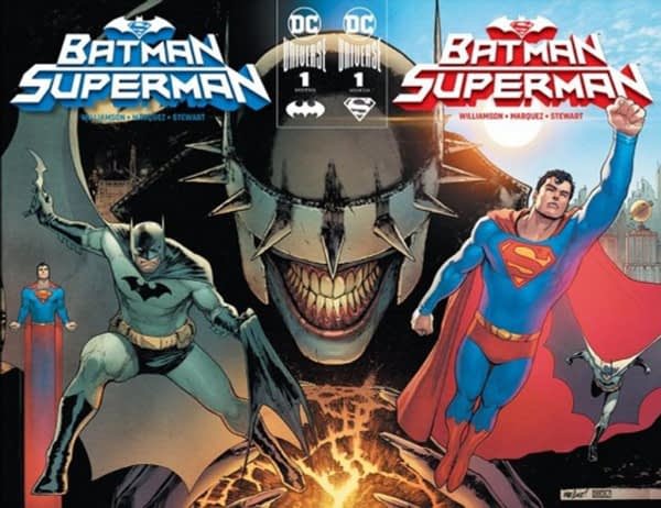 Batman/Superman #1 to Offer Card Stock Exclusive Retailer Covers