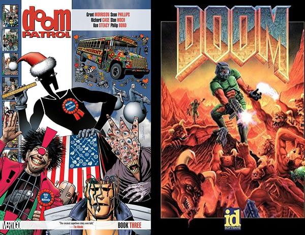 Doom Vs Doom Patrol - iD Software to Oppose DC Comics' Trademark Application