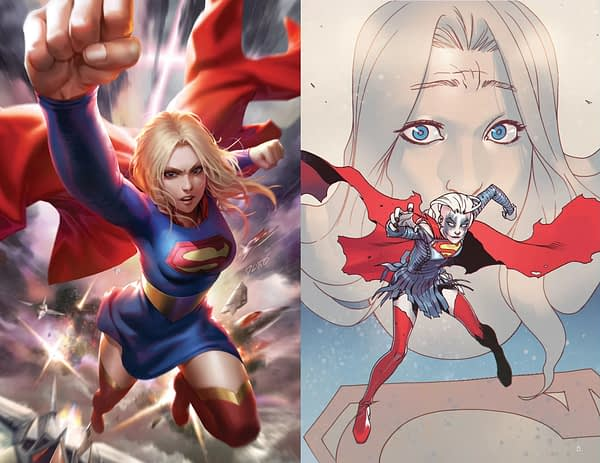 Dorctor Who Team, Jody Houser and Rachel Stott, Take On Supergirl For DC Comics With #37