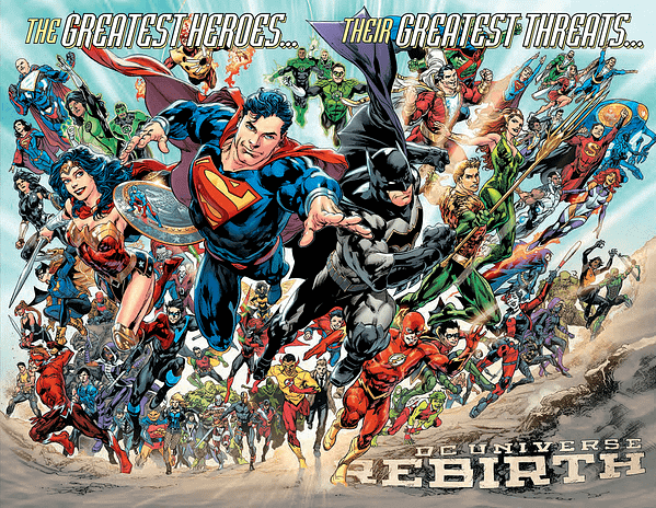 DC Rebirth Titles