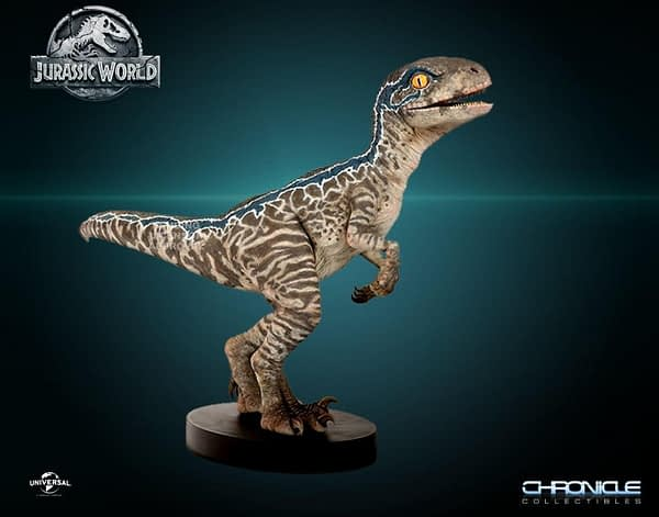 Jurassic World Fallen Kingdom Baby Blue Statue 1